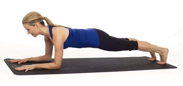 gainage planche abdominale