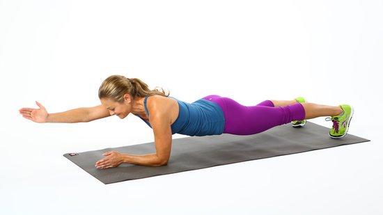 exercices de planche abdominale