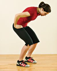 dos courbe squat
