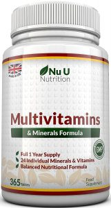 Multivitamins & Minerals Formula