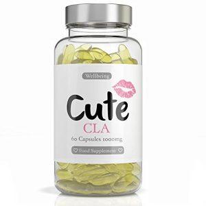 Gelules De CLA - brûleur de graisse naturel - Chaque gélule contient 1000 mg d'Acide Linoléique Conjugué - Complément alimentaire pour maigrir et avoir un ventre plat - Guide pour perdre du poids offert