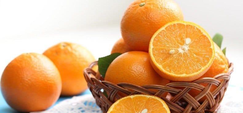 Fibres dans les oranges